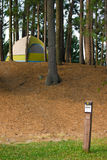 Tent Camping Campsite Royalty Free Stock Photo