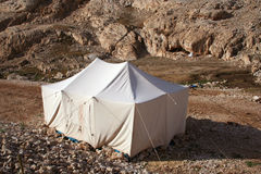 Tent and camping at mountain Stock Photos