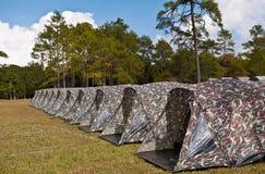 Tent camping at national park Stock Photos