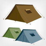 Tent. Camping tent . Tourist tent for travel and camping. Illustration of an tent vector illustration
