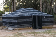 Tent in de Woestijn van de Sahara Royalty-vrije Stock Afbeeldingen