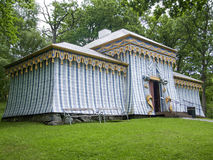 Tent in Drottningholm-Paleis stock foto's