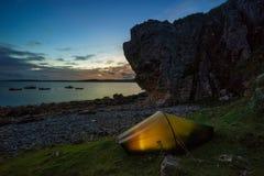Tent in Elgol Stock Photos