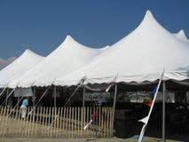 Tent en hemel Stock Afbeeldingen