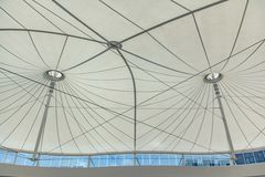 Tent fabric roof Royalty Free Stock Images
