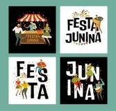 Tent Festa Junina Brazilian Apple Candy. June Party Festival. Vector Illustration. Tent Festa Junina Brazilian Apple Candy June Party Festival. Vector royalty free illustration
