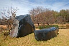 Tent, Grass, Rock, Landscape royalty free stock photos
