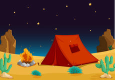 Tent house Royalty Free Stock Photography