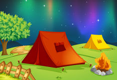 Tent house Stock Image
