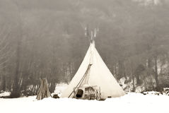 Tent of the Indian Royalty Free Stock Photo