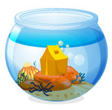 A tent inside the aquarium Royalty Free Stock Photos