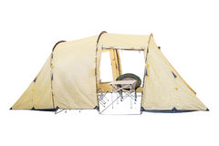 Tent isolated Stock Photography