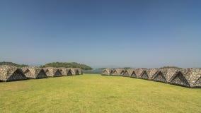 Tent Kaeng Krachan National Park Royalty Free Stock Photos