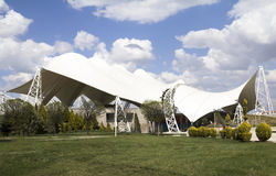 Tent Like Steel Structure Stock Photos
