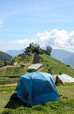 Tent mountian Stock Image