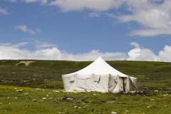 Tent in nature Stock Images