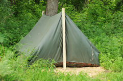 Tent in nature Stock Photo