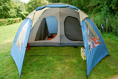 Tent. For outdoor recreation,protection from the weather Stock Photos