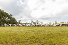 Tent in Phukradueng National Park Royalty Free Stock Images