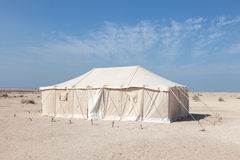 Tent in Qatar, Middle East Stock Image