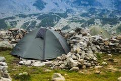 Tent on Retezat 2 Stock Photography