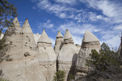 Tent Rock, New Mexico. Natural Landscape Stock Image