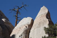 Tent Rocks in New Mexico Stock Photo