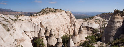 Tent rocks panorama Stock Images