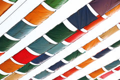 Tent roof Royalty Free Stock Image