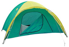 Tent. Series... Royalty Free Stock Photo