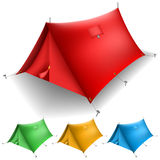Tent set Stock Images
