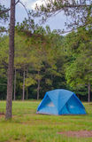 Tent sojourn in nature Stock Images
