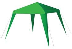 Tent Solar Flare Stock Photo