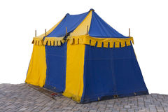 The tent in style of medieval knights Royalty Free Stock Photography