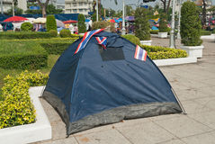 The tent of Thailand's Protestants Royalty Free Stock Images