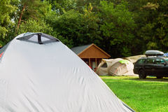 Tent tourist house camping Stock Image