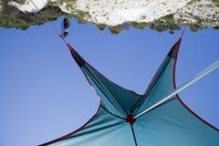 tent under Arkivfoton