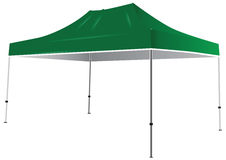 Tent from weather. Tent from the weather and sun. Vector illustration Royalty Free Stock Images