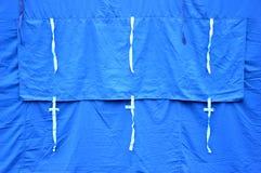 Tent window Stock Image