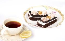 Tentação do chocolate Imagens de Stock