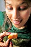 Tentación comer Imagen de archivo libre de regalías