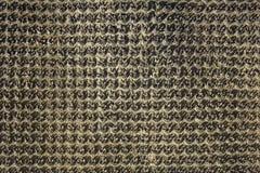 Tentacules en plastique grises noires de pile en plan rapproch? de rang?es Texture de surface approximative image libre de droits
