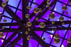 Tentakels van het Plein van de octopusFrontingang van het de Wetenschapscentrum van Californië in Los Angeles Royalty-vrije Stock Afbeelding