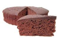 Tentation de gâteau de chocolat photo stock