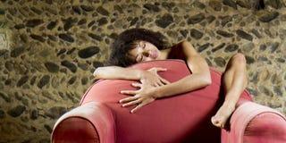 Tentation sensuelle. Images libres de droits