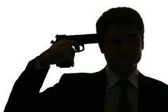 Tentativa comprometer um suicídio Fotos de Stock