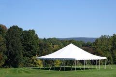 Tente blanche Photos libres de droits