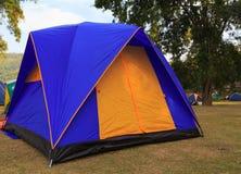 Tente campante Image stock