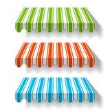Tente colorée Photographie stock libre de droits