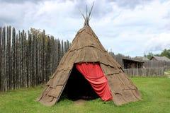 Tente d'aborigène Photographie stock libre de droits